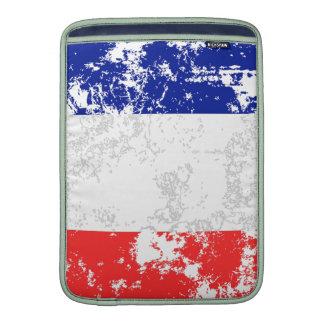 France Flag MacBook Sleeve