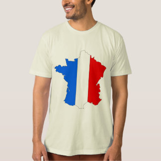 France Flag Map full size Shirt