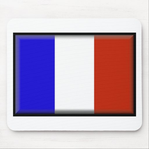 France flag mouse pads
