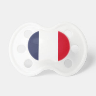 France flag pacifier