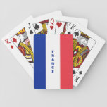 "France Flag playing cards<br><div class=""desc"">playing cards contains France flag,  the &quot;France&quot; text can be modified to fit your needs. if you need help for a customization feel free to contact me.</div>"