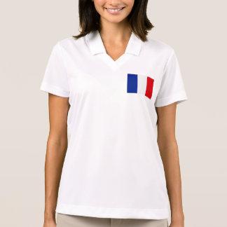 France Flag Polo Shirt