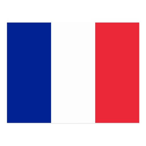 France Flag Post Cards