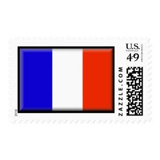 France Flag Postage