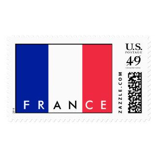 France Flag Postage Stamp Timbre
