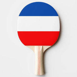 France flag quality Ping-Pong paddle