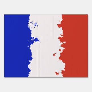 FRANCE FLAG SIGN