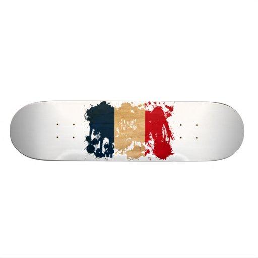 France Flag Skateboard Decks