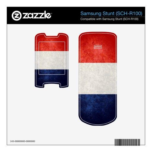 France Flag; Skins For Samsung Stunt