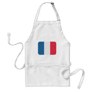 France Flag - Twitter emoji Adult Apron