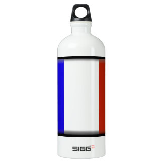 France flag water bottle