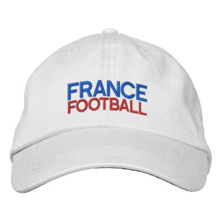 FRANCE FOOTBALL EMBROIDERED BASEBALL CAP