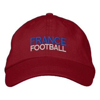 FRANCE FOOTBALL EMBROIDERED BASEBALL HAT