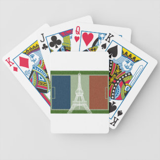 France football-Flag Bicycle Playing Cards