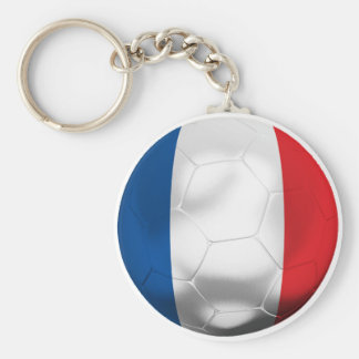 France Football Keychain