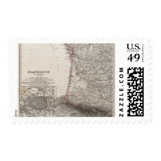 France, four leaves, leaf 3 postage