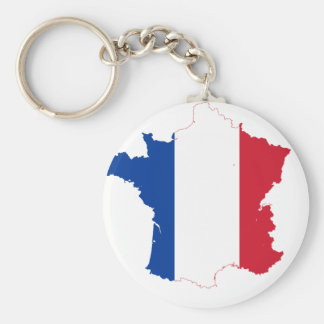 France FR Keychain