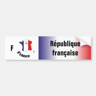 France - France autosticker Bumper Sticker