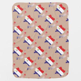 France - France baby cover Stroller Blanket