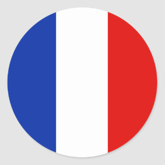 France, France Classic Round Sticker