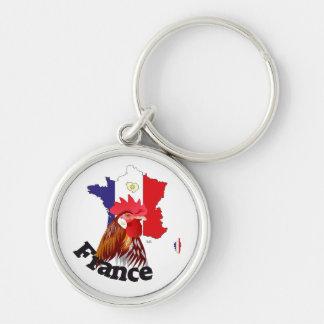 France France Francia key supporter Keychains