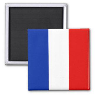 France, France 2 Inch Square Magnet