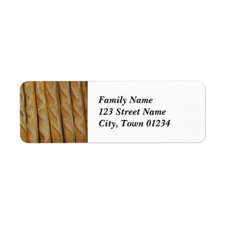 France - French Bread Labels