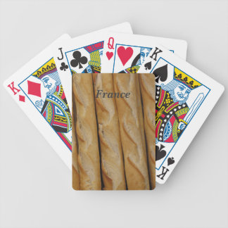 France - French Bread Bicycle Card Deck