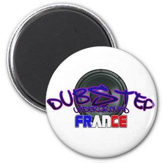 France French DUBSTEP Magnet