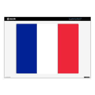 "France – French Flag 14"" Laptop Decals"
