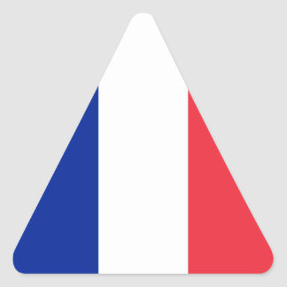 France – French National Flag Triangle Sticker