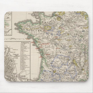 France from 1461 to 1610 mouse pad