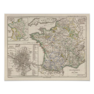 France from 1461 to 1610 poster