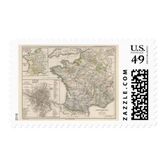 France from 1461 to 1610 stamp