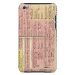 France from 1589 to 1793 iPod touch cover