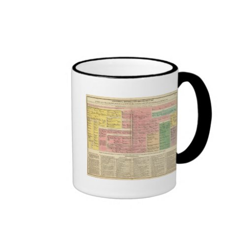 France from 1589 to 1793 ringer coffee mug