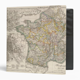 France from 1610 to 1790 3 ring binder