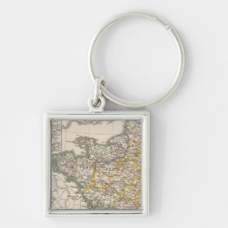 France from 1610 to 1790 keychain