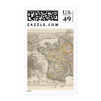 France from 1610 to 1790 stamp