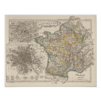 France from 1610 to 1790 poster