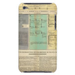 France from 752 to 987 iPod touch case
