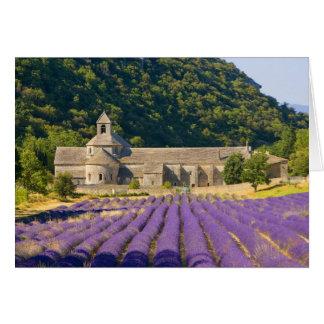 France, Gordes. Cistercian monastery of Card