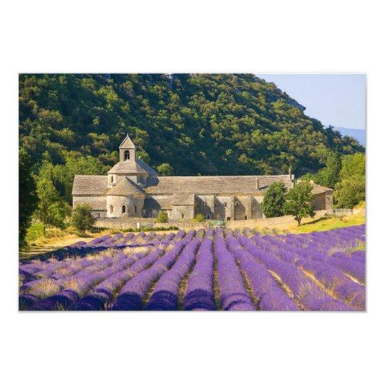 France, Gordes. Cistercian monastery of Photo Print