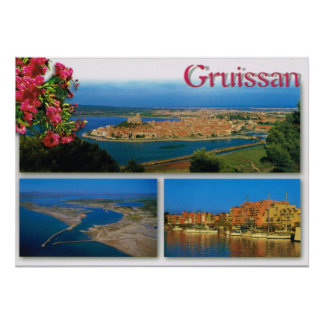 France, Gruissan, Languedoc-Roussillon Poster