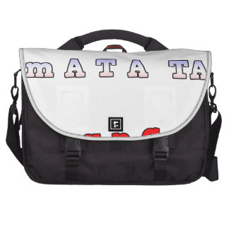 fRANCE HAKUNA MATATA BLUE WHITE RED UNITY COLORS T Commuter Bags