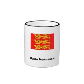 France- Haute Normandie Ringer Coffee Mug