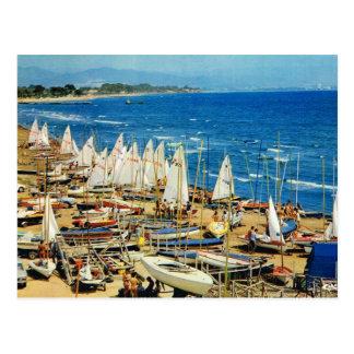 France, Hyeres, Var, Port and Marina Postcard