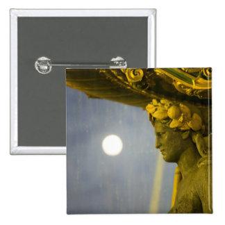 France, Ile de France, Paris, Concorde place, 2 Pinback Button