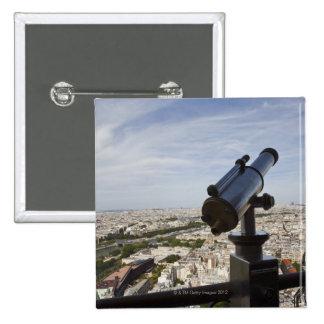 France, Ile-de-France, Paris, Eiffel Tower, Button