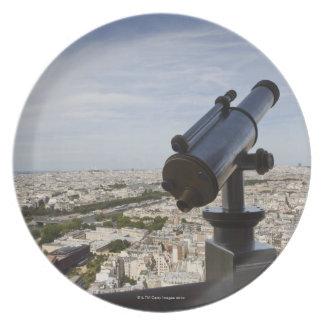 France, Ile-de-France, Paris, Eiffel Tower, Melamine Plate